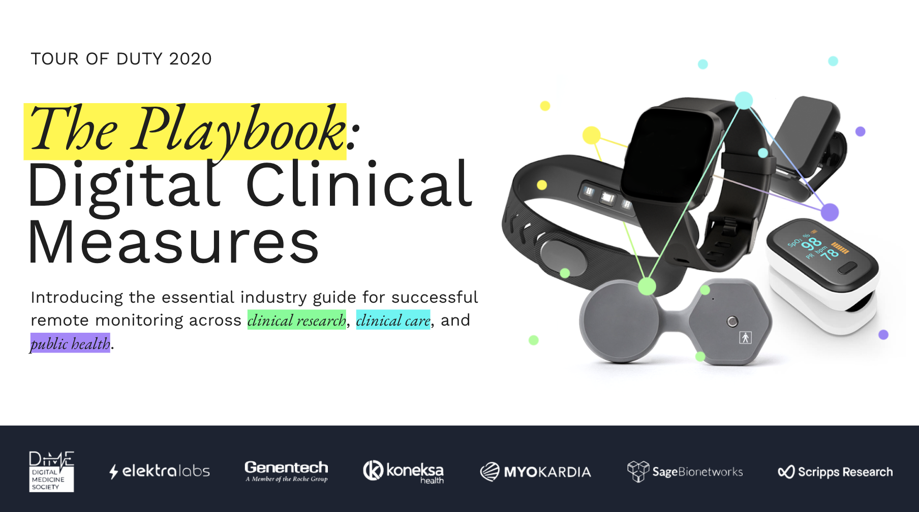 Digital Clinical Measures Playbook: Launch Event
