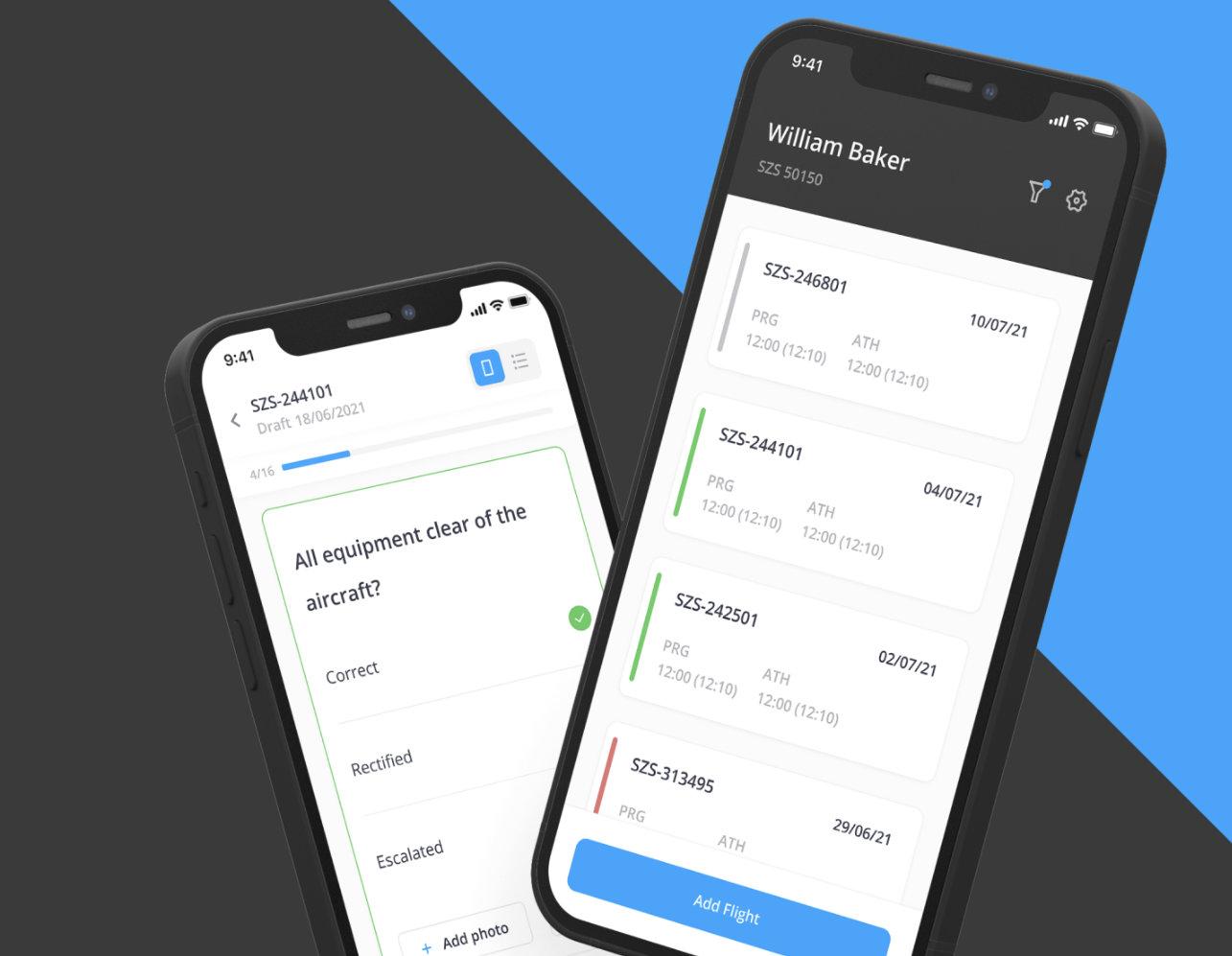 Custom app development aviatech
