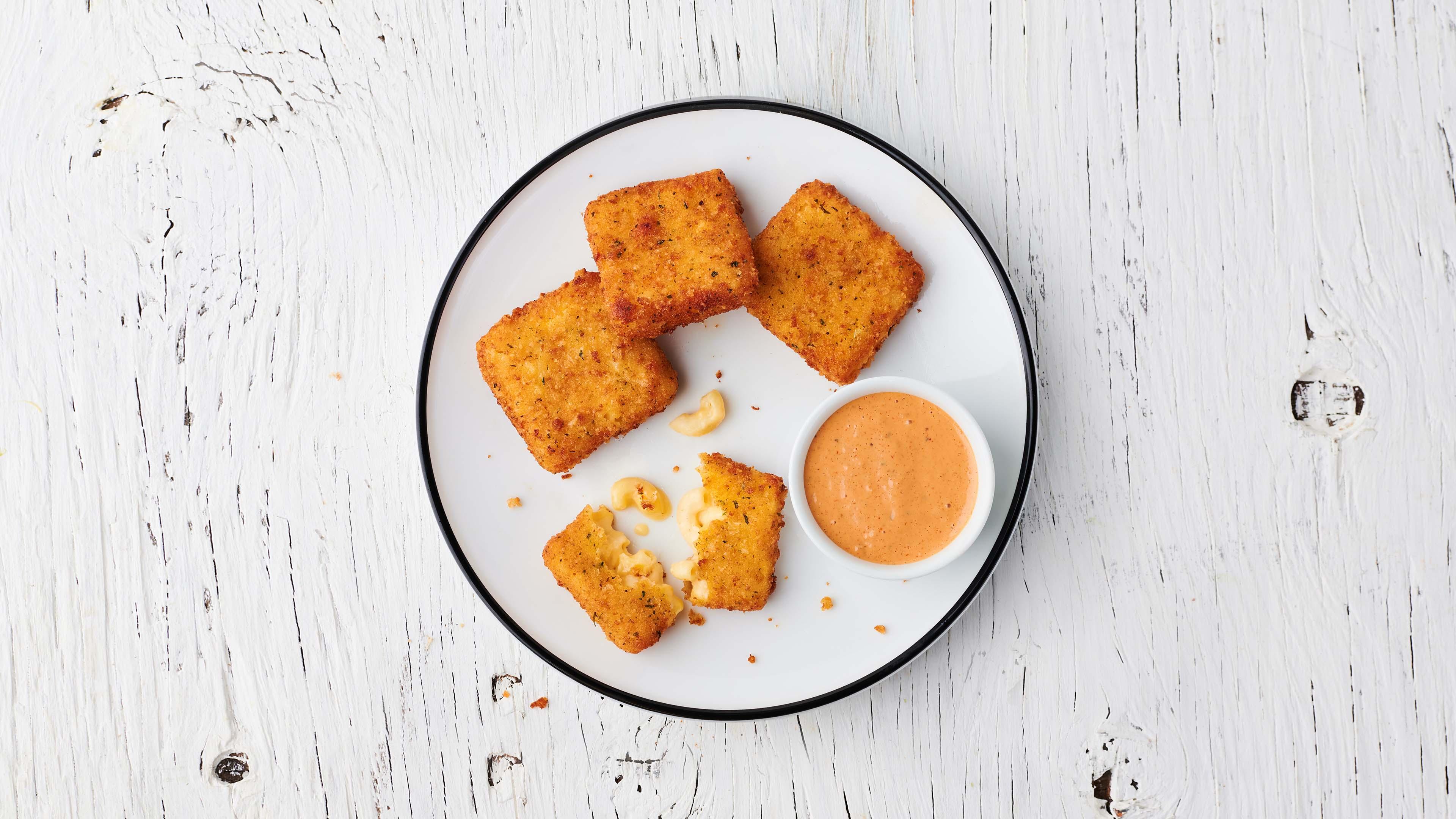 Toasty Mac Bites