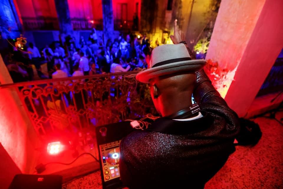 DJ Knight Performing
