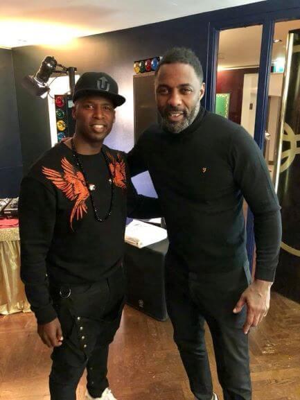 DJ Knight and Idris Elba