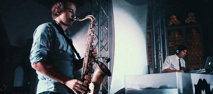DJ & Saxophone Player