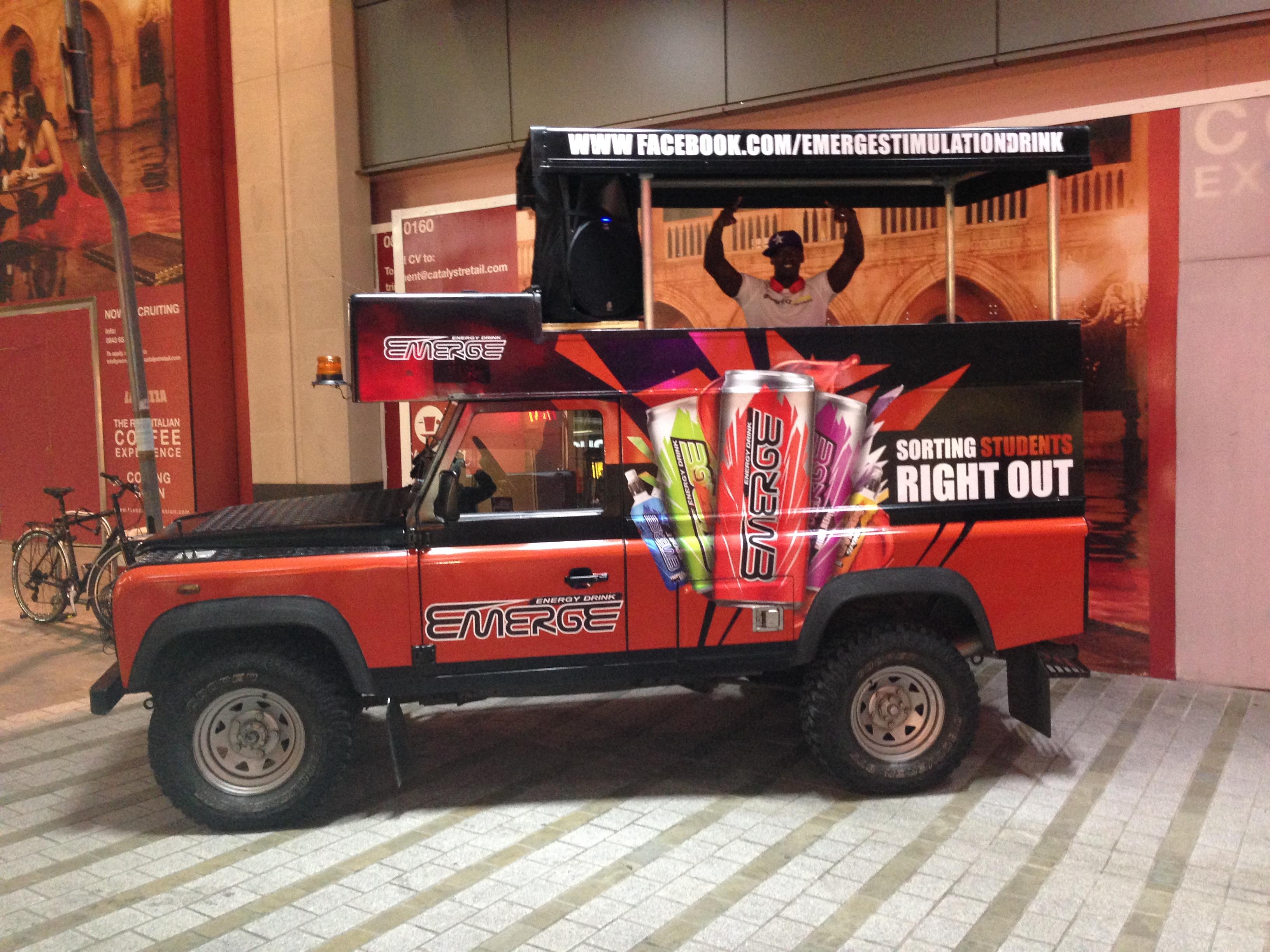Mobile DJ Jeep