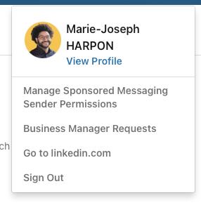 linkedin inmail profil