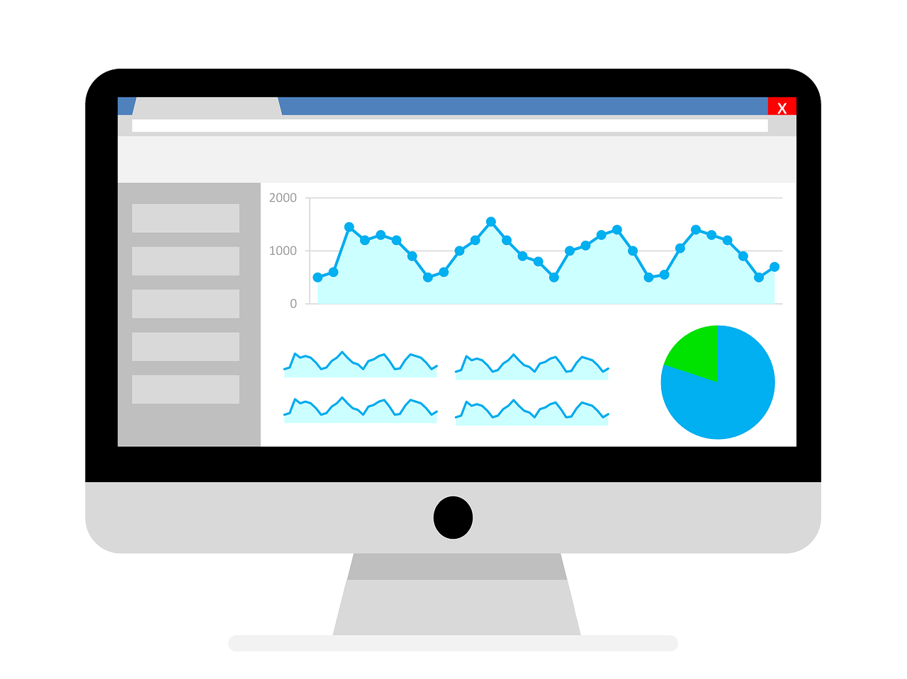 google analytics datas