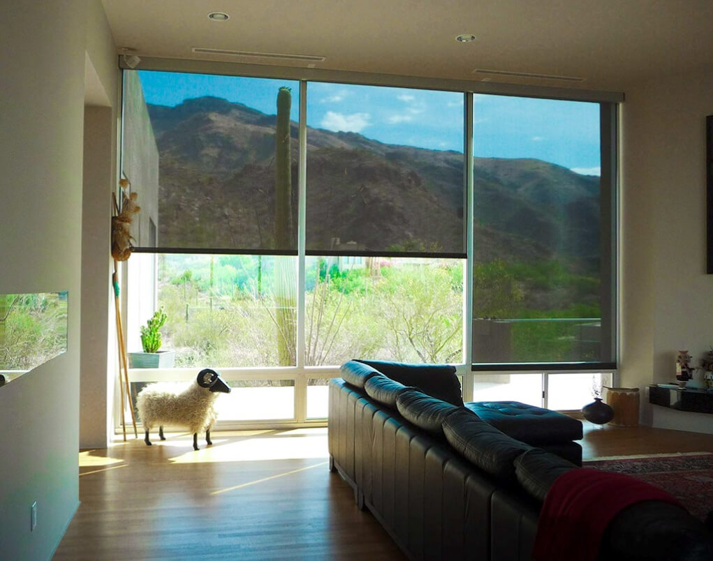 retractable shade screens - Southwestern Home Products - El Paso Texas