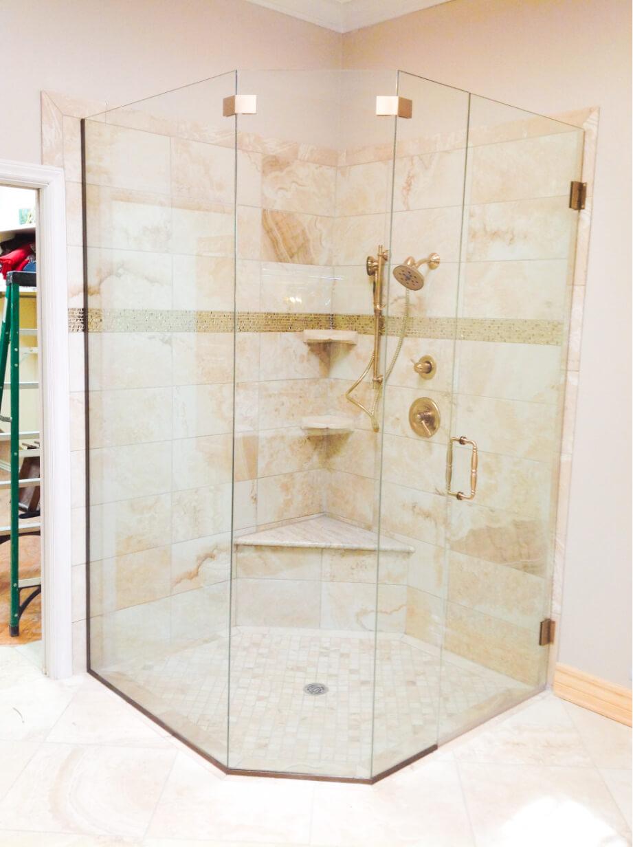 frameless shower enclosure el paso