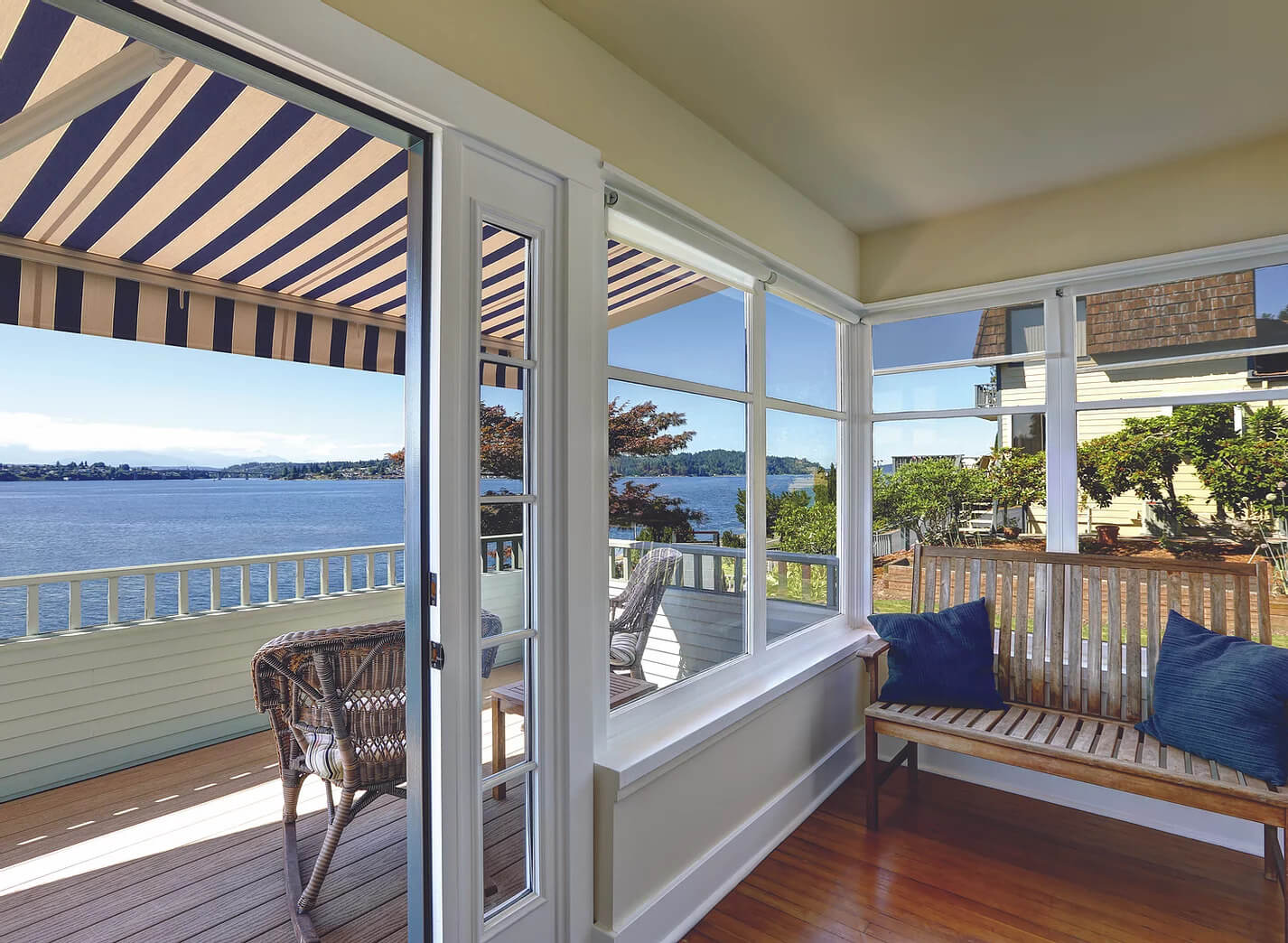 luxury residential awnings - southwestern home products