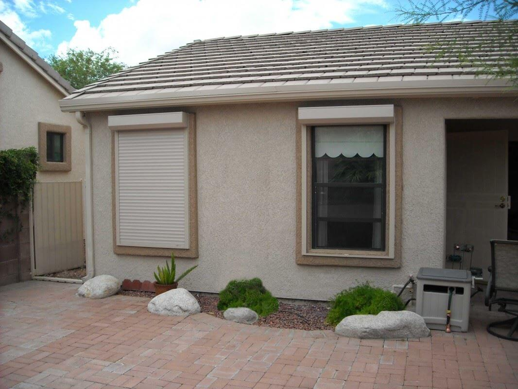 rolling shutters in el paso texas - southwestern home products