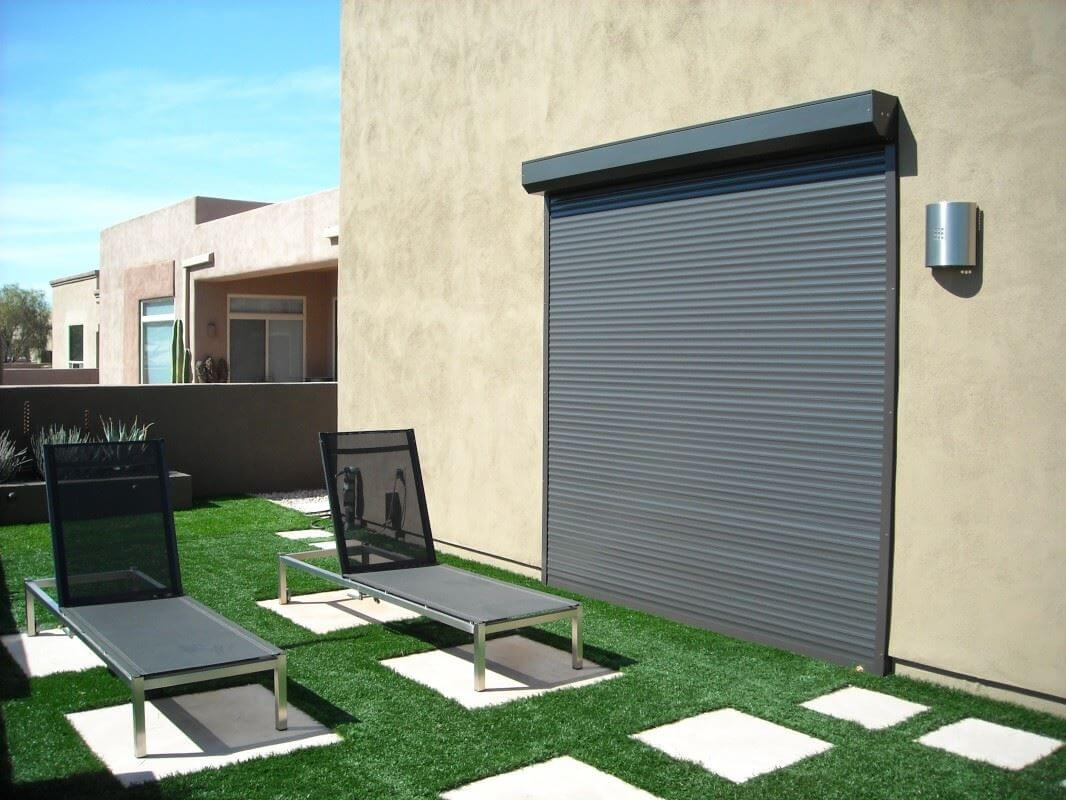 commercial rolling shutters- sun control solution