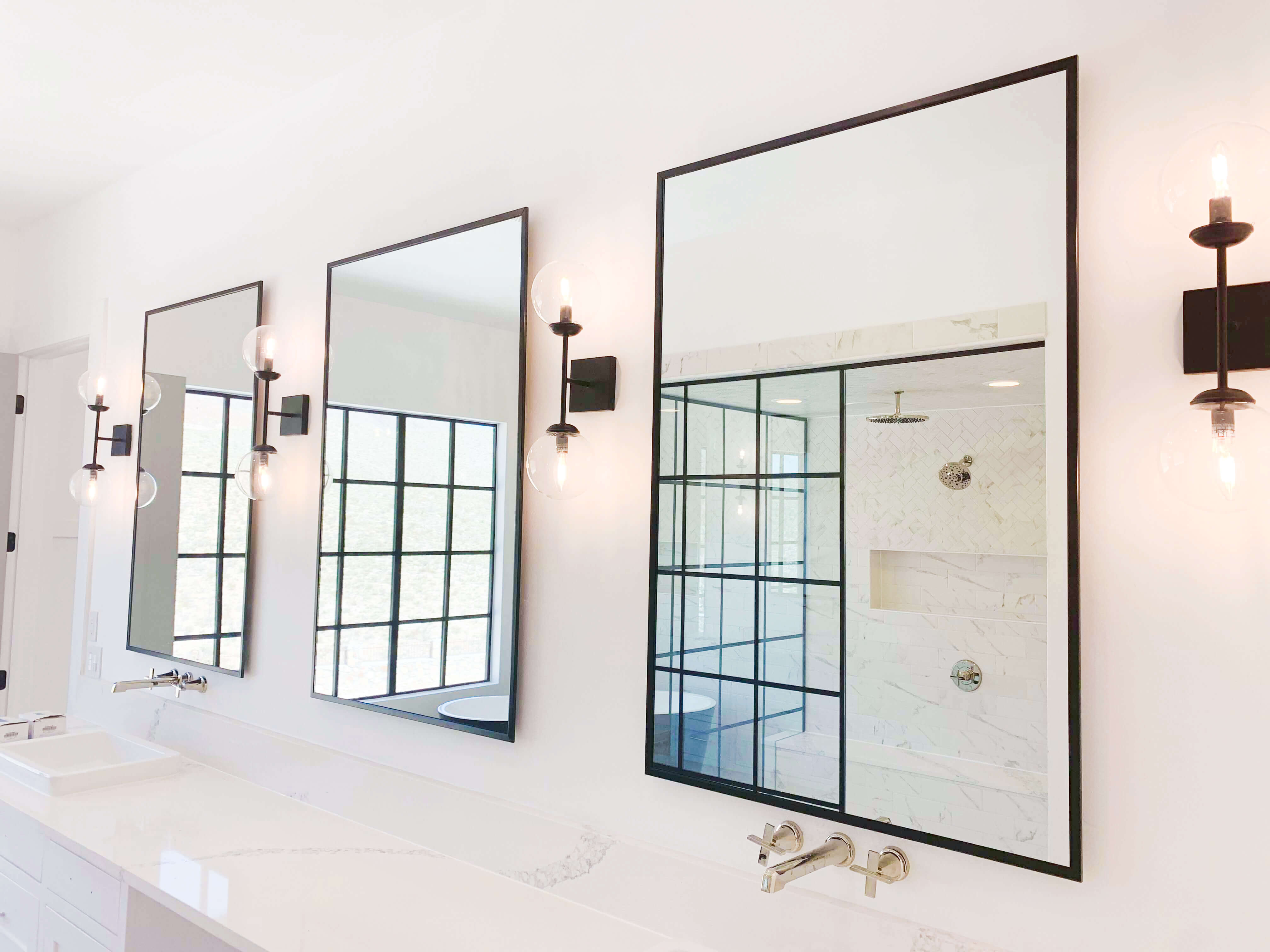 Custom mirrors for homes in El Paso, Texas by Southwestern Home Products