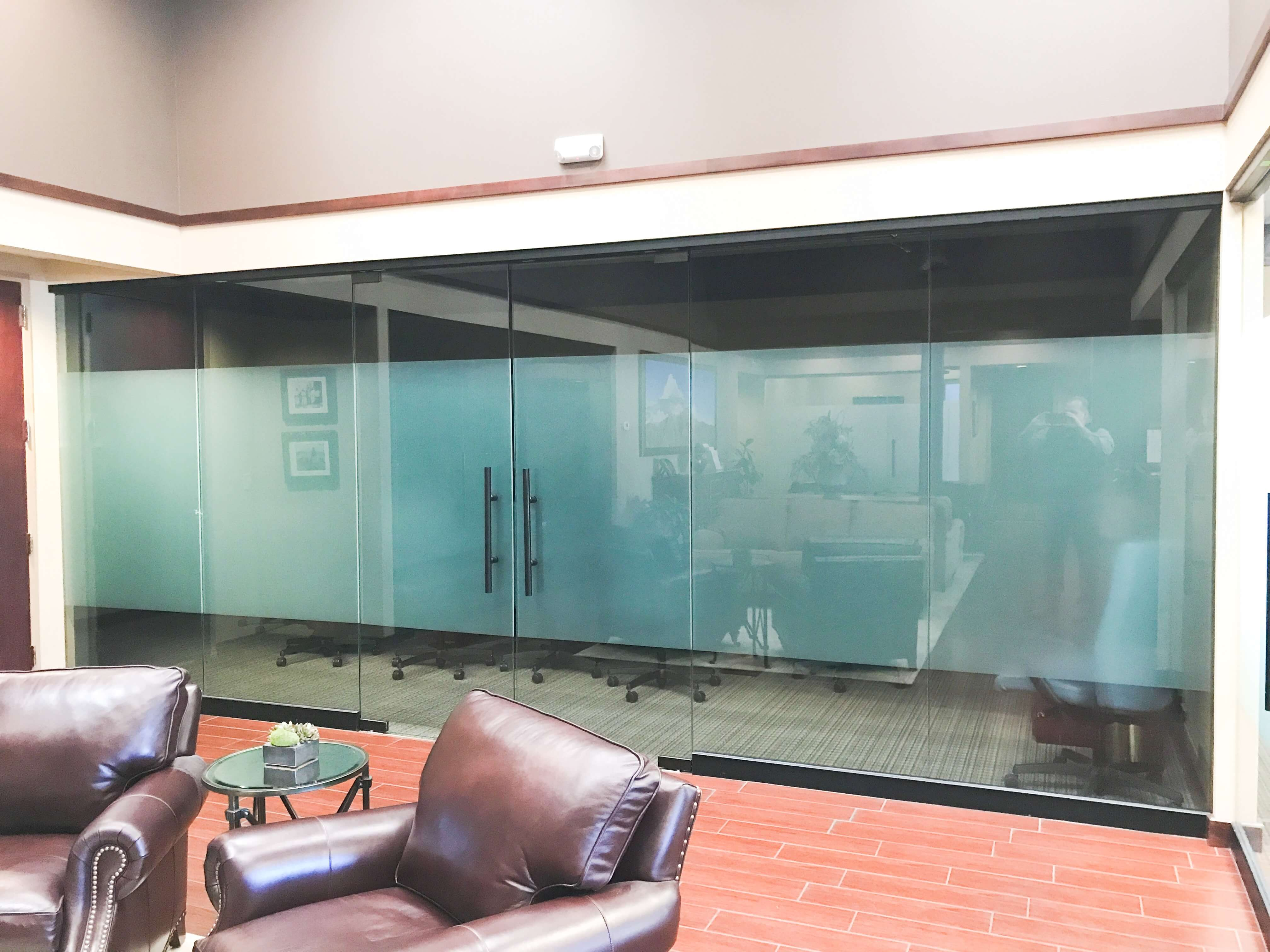 Commercial office glass doors and windows by Southwestern Home Products