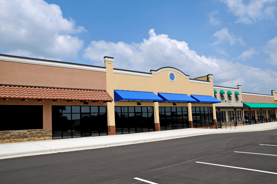 Commercial awnings - Southwestern Home Products