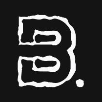 Black Bald Films B Logo