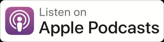 Listen on Apple Podcasts badge.