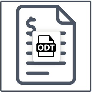 Open Office Invoice Template