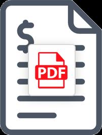 PDF Invoice Template