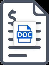 Microsoft Word Invoice Template