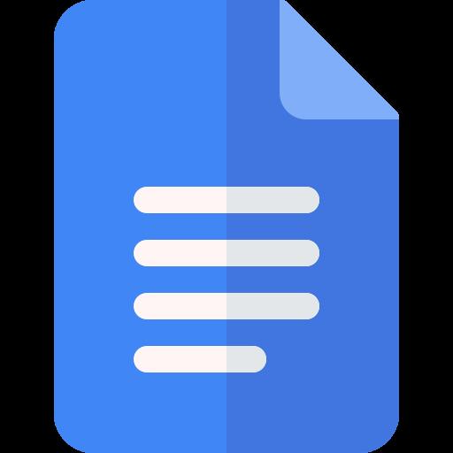 Simple Google Docs Invoice Template Icon