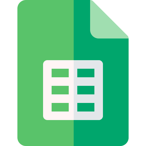Simple Google Sheets Invoice Template Icon