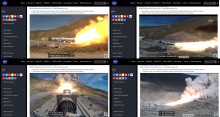 NASA Booster Test
