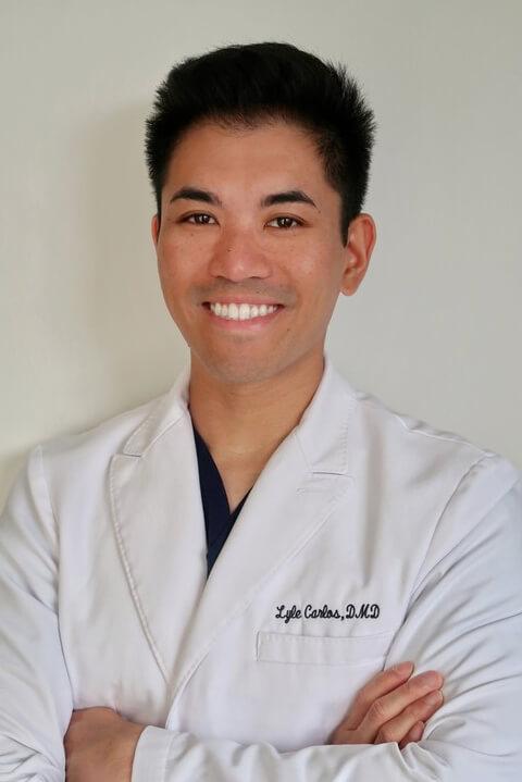 Portrait of Dr. Lyle Carlos.