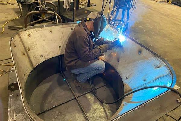 Metal fabrication by Area Sheet Metal, Hobart IN