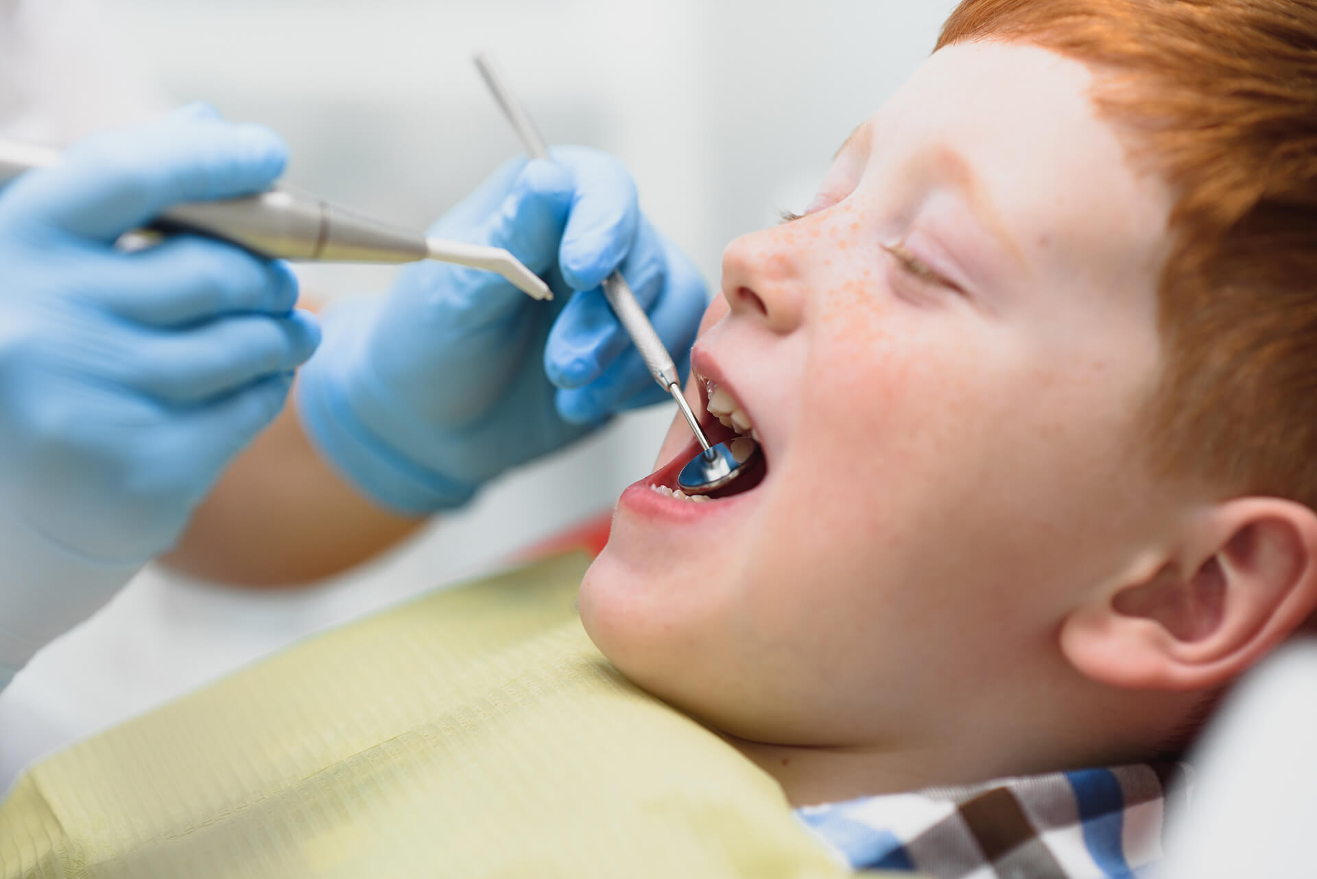 pediatric teeth cleaning and and x-rays in lafayette