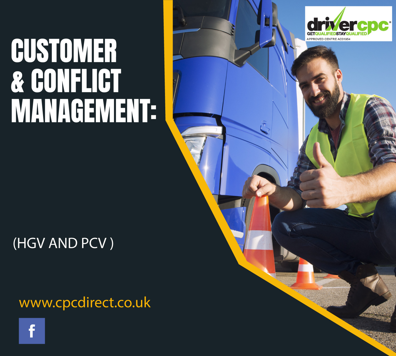 Customer & Conflict Management Driver CPC Course