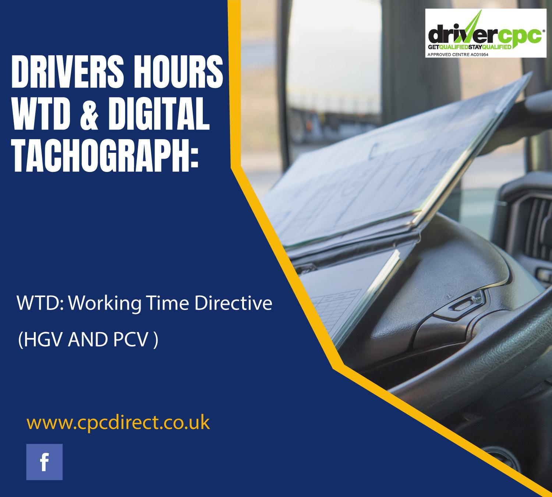 Driver Hours WTD & Digi Tacho Driver CPC Course