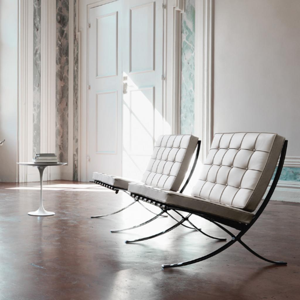 The Knoll Barcelona chair