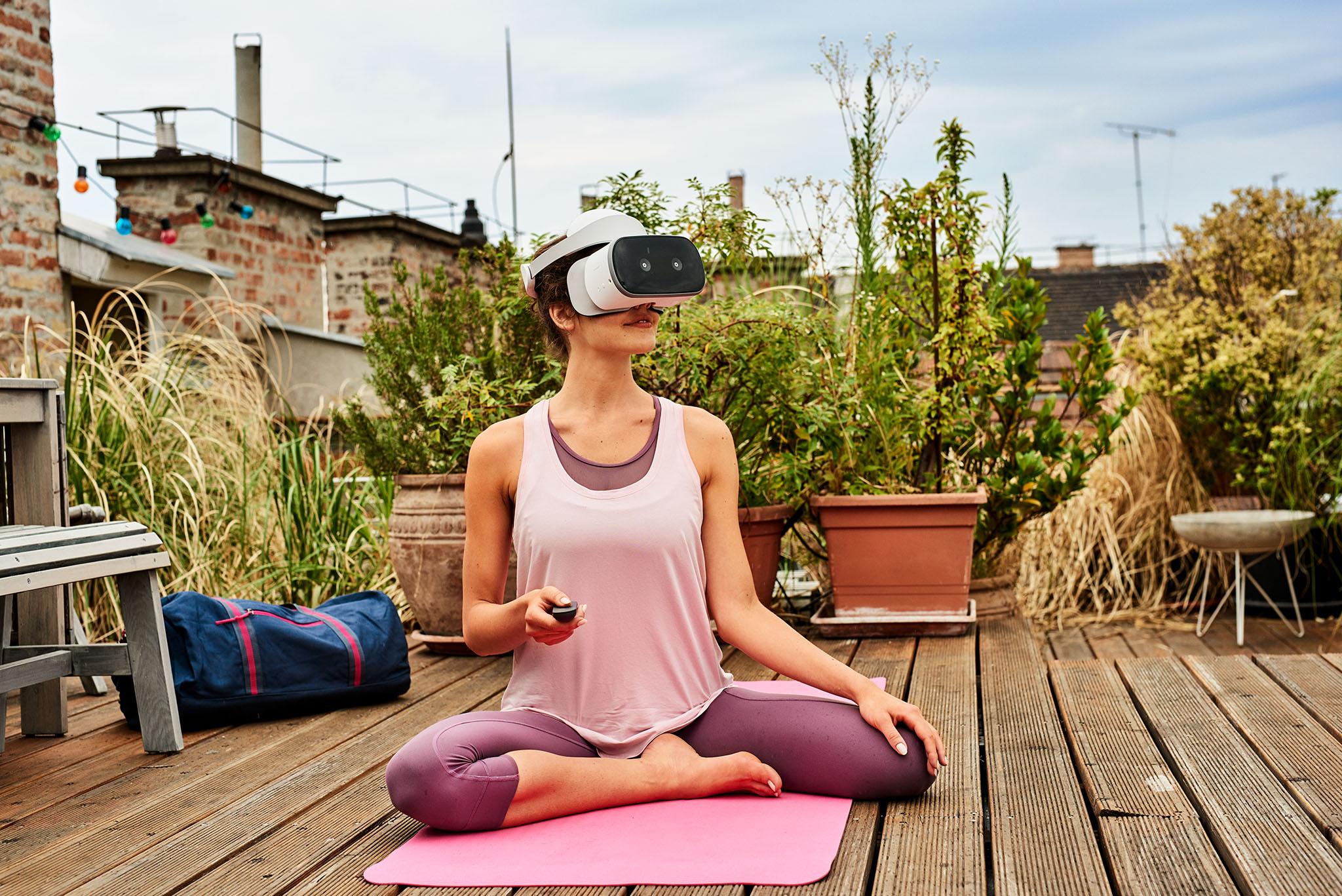 Entspannen mit der Magenta Virtual Reality App