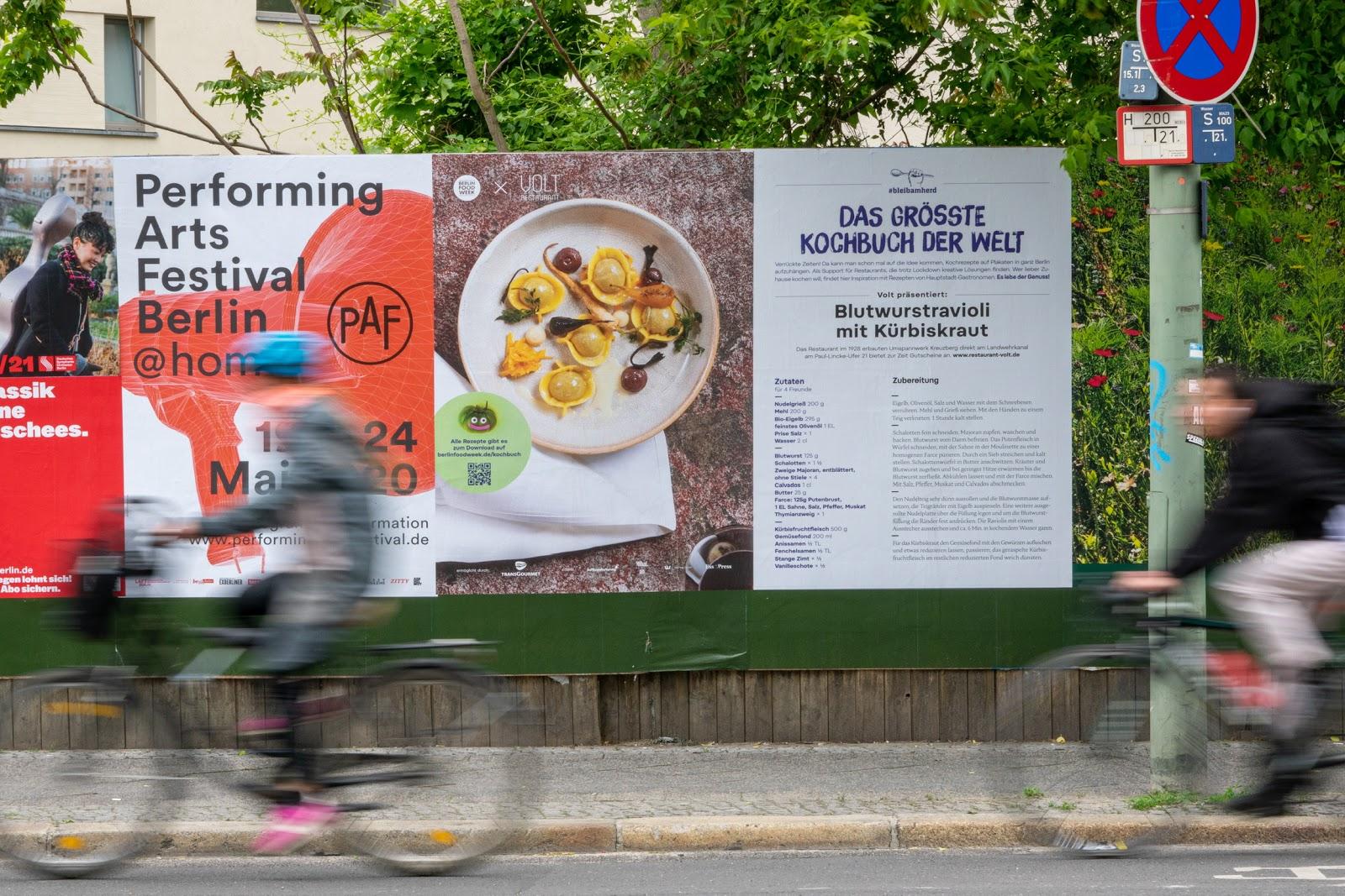 """Berlin Food Week präsentiert """"das Größte Kochbuch der Welt"""" in der Hauptstadt"""