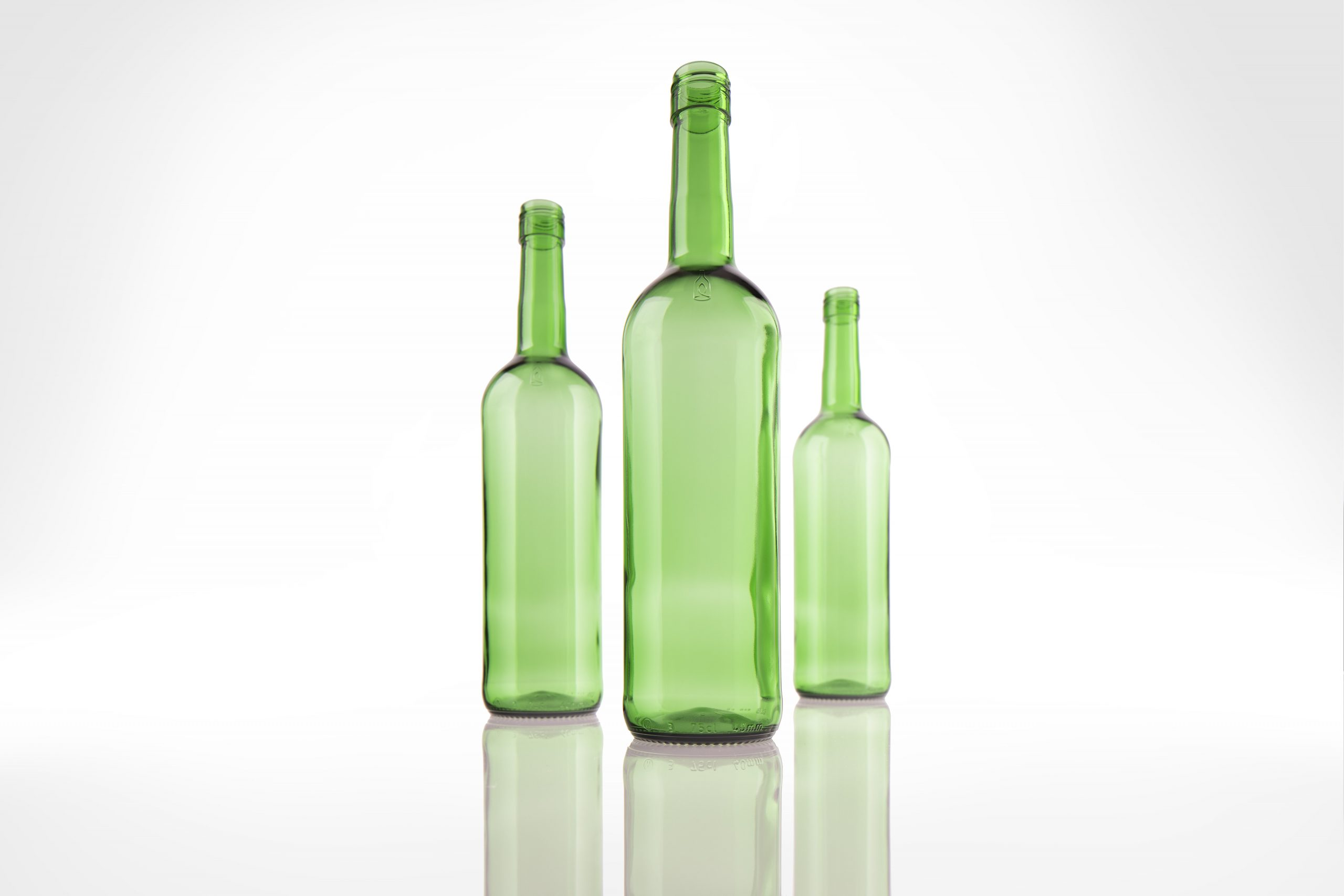 Eco2Bottle: Die erste klimaneutrale Leichtglas-Weinflasche aus garantiert 93 Prozent Altglas