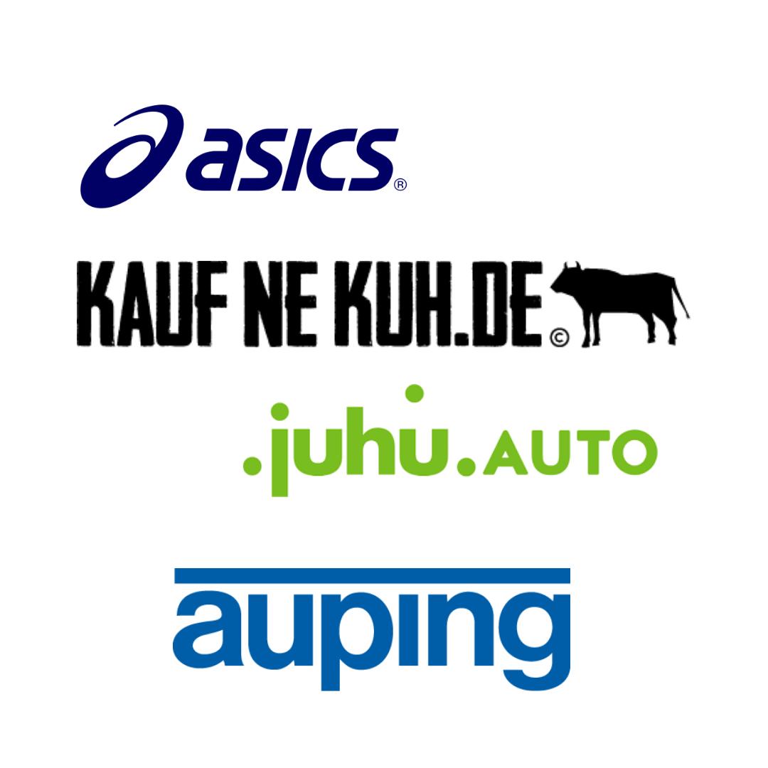ASICS läuft, Auping schläft, JuhuAuto fährt, Kauf ne Kuh schlachtet - alle mit Schröder+Schömbs PR