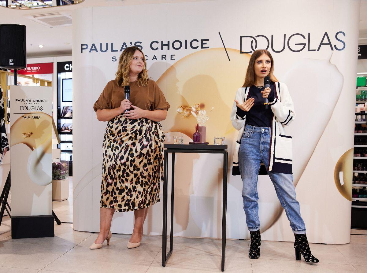 Paula's Choice im Douglas Skincare Talk mit Cathy Hummels: Fühl dich wohl in deiner Haut!