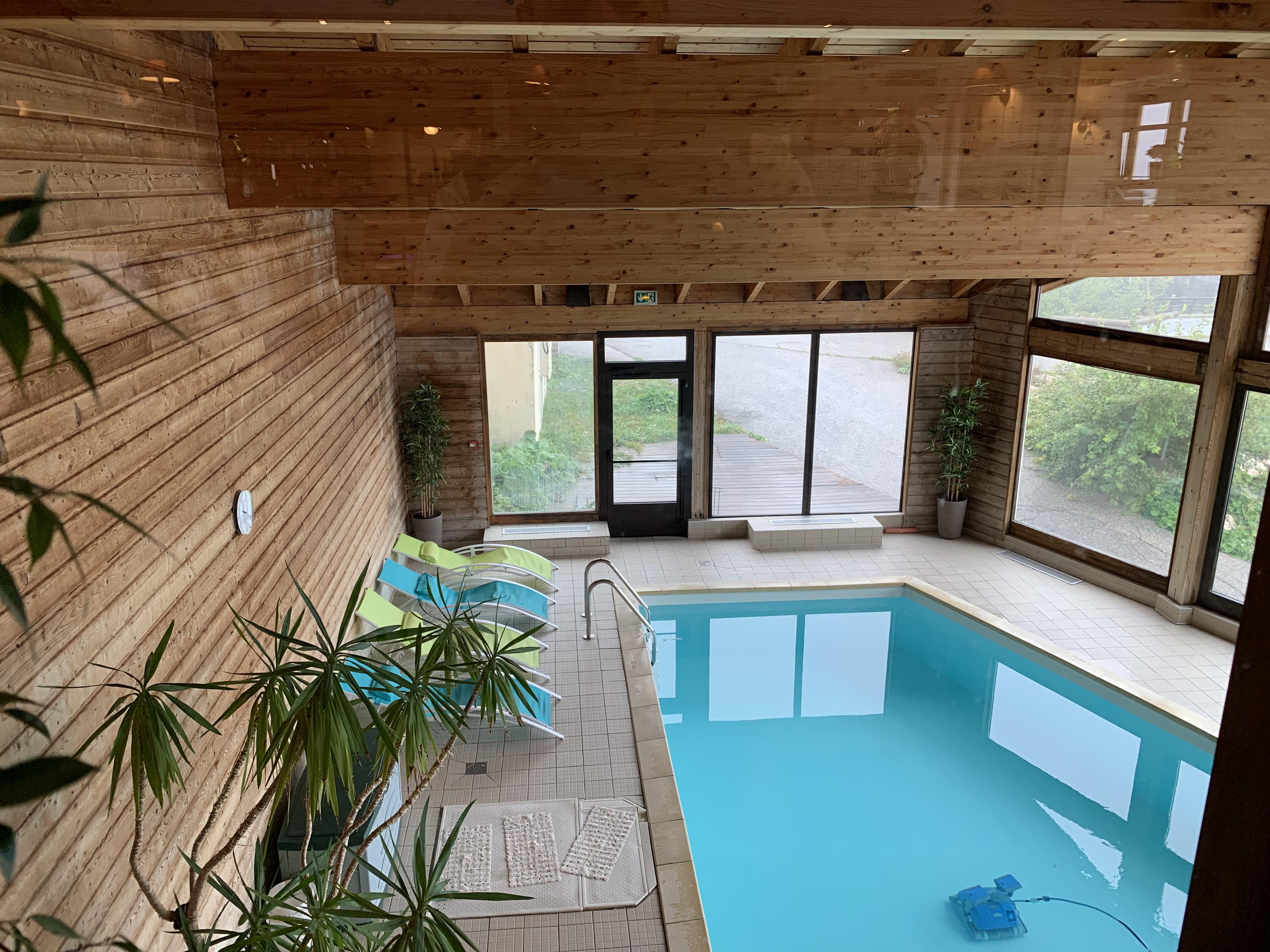Hébergement avec piscine