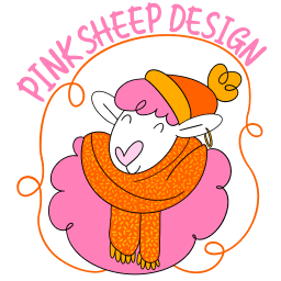 Official Merch Store for Pink Sheep Design with Bonfire X