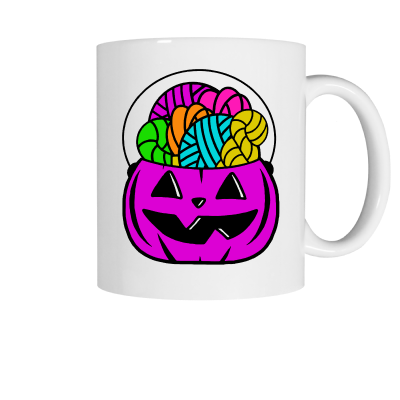 Purple Forget the Candy Pink Sheep Design Merch, a white ceramic coffee mug front