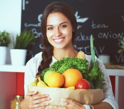 woman diet planning for weight loss