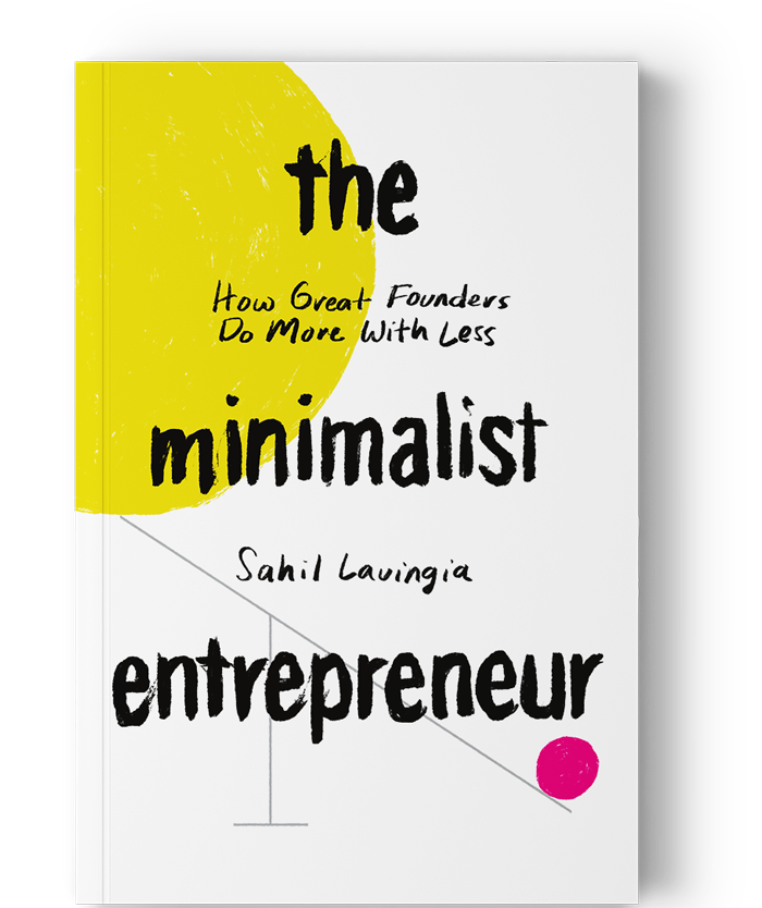 The Minimalist Entrepeneur book front cover