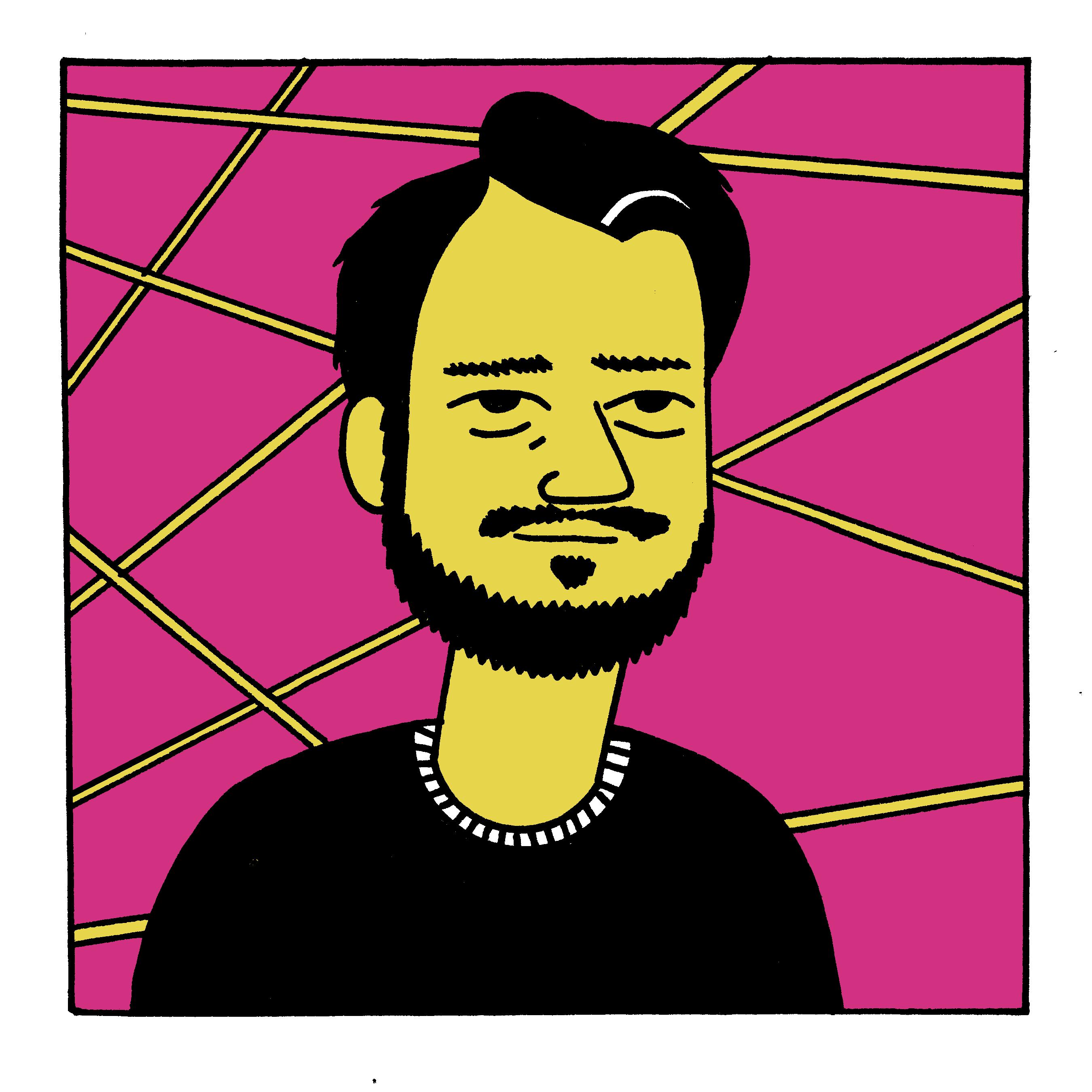 Illustration of Sahil Lavingia