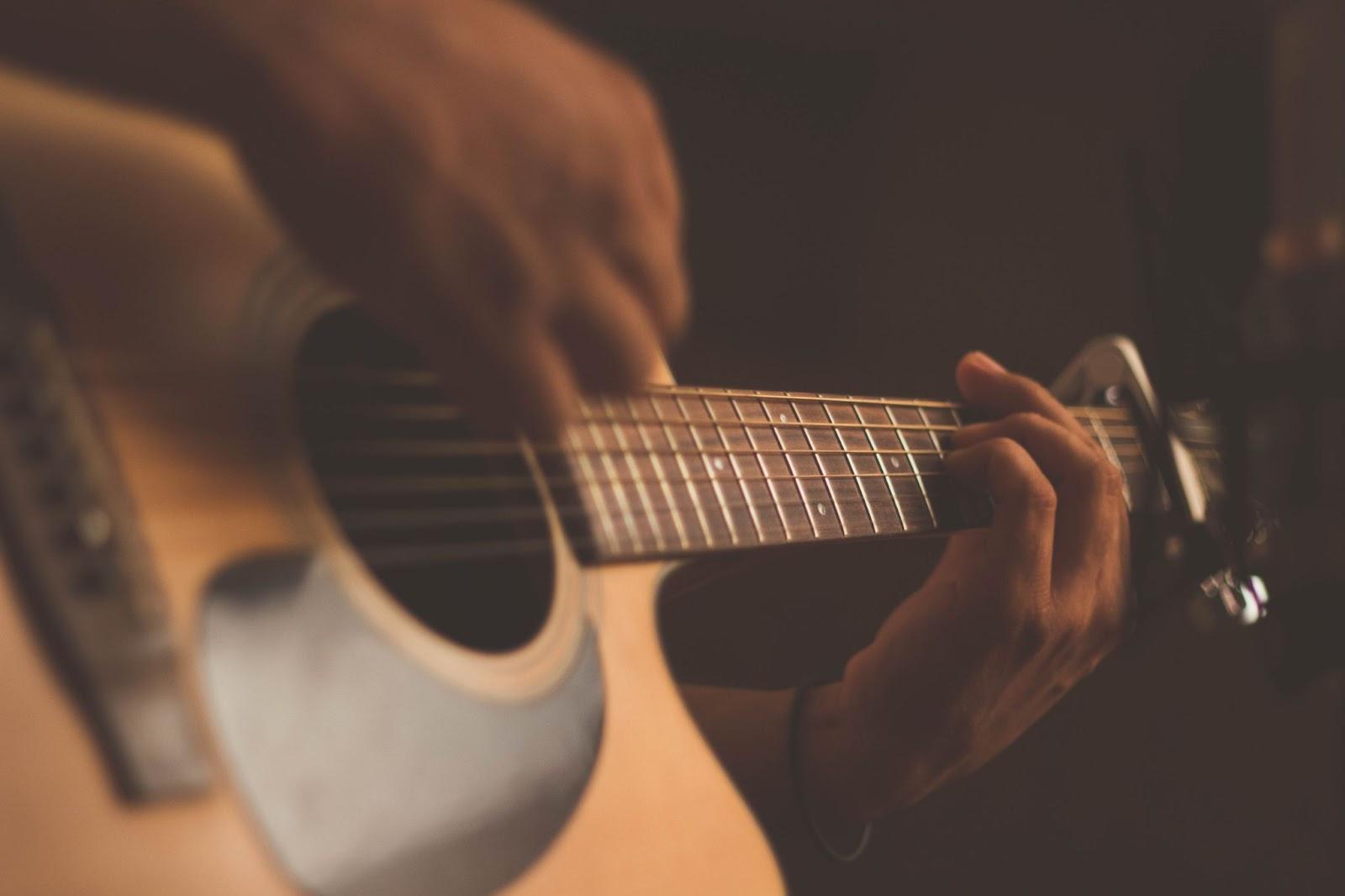 start with lyrics or music