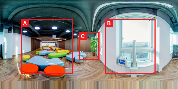 Camera Setting for the real estate 3D virtual tour—Set the median exposure
