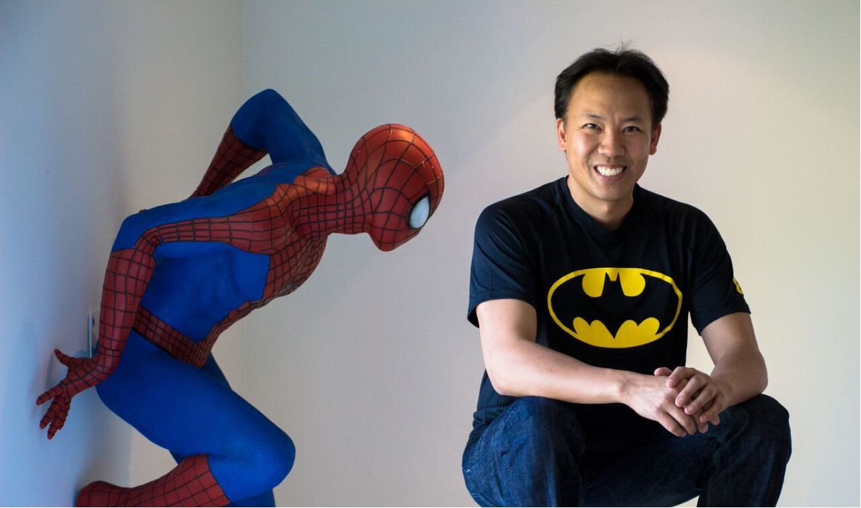 Jim Kwik and Spider-man