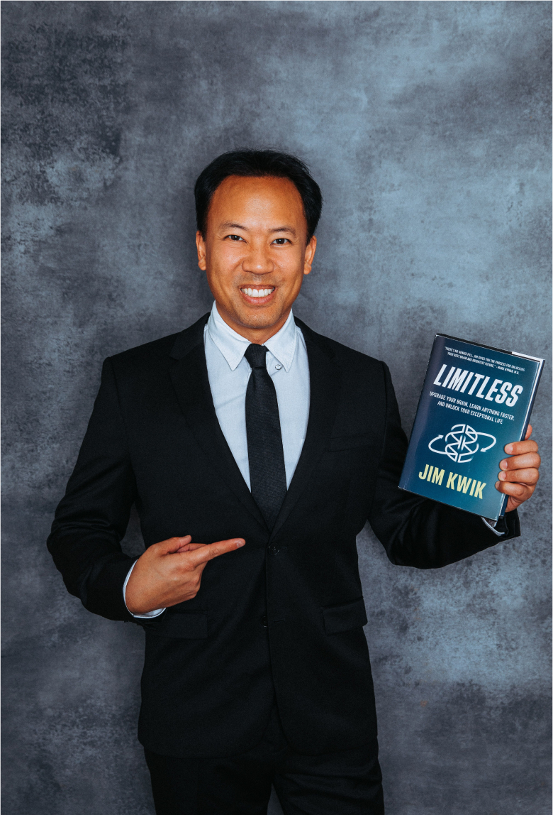 Limitless book and Jim Kwik