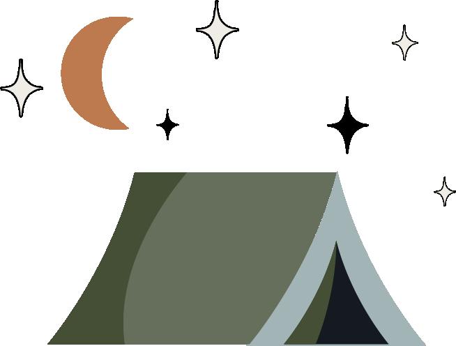 BaseCamp Camping icons