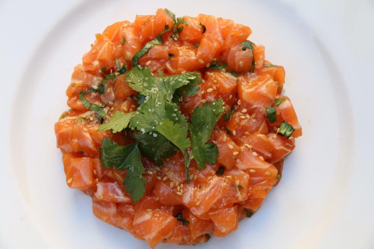 plat saumon le dôme