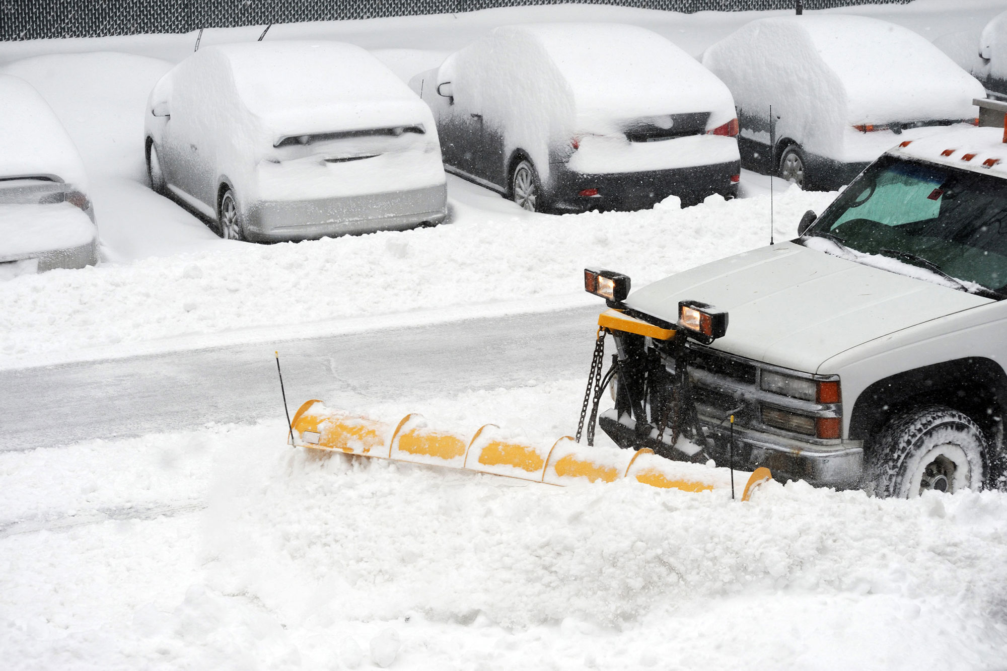 Cache Valley Utah commercial snow removal