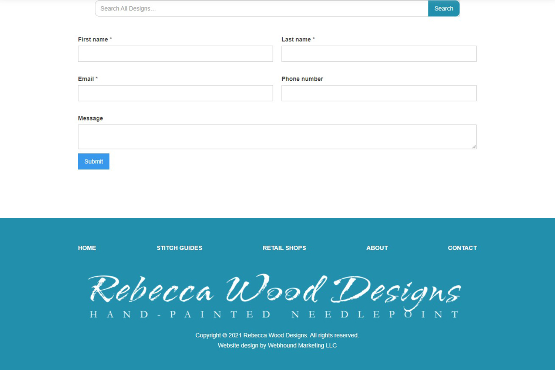 Screenshot of work done by webhound marketing